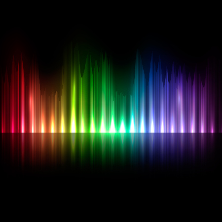 soundtrack: colorful musical bar showing volume
