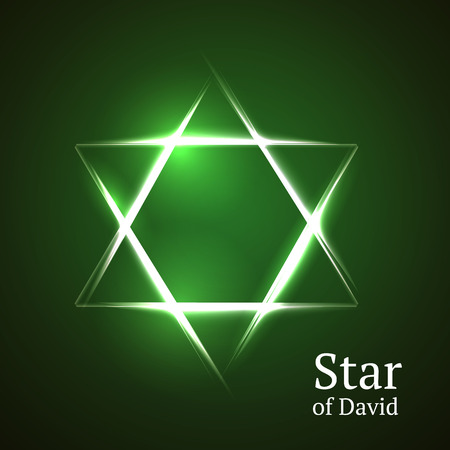israelite: Abstract background star of David.