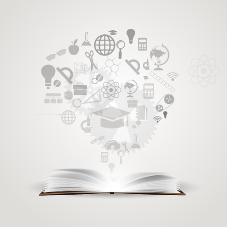 knowledge: Vector background knowledge from books.