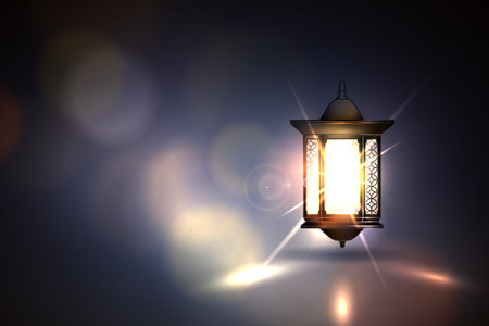 Vector Illustration Ramadan Kareem Lantern. Фото со стока - 52818242