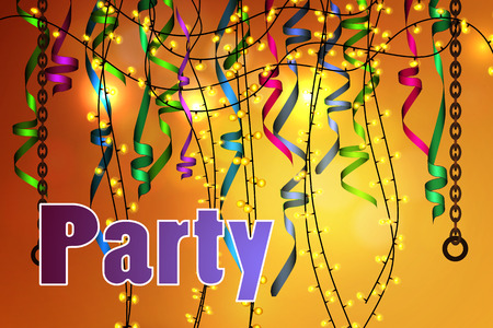 sensation: Vector background concept of party, celebration.