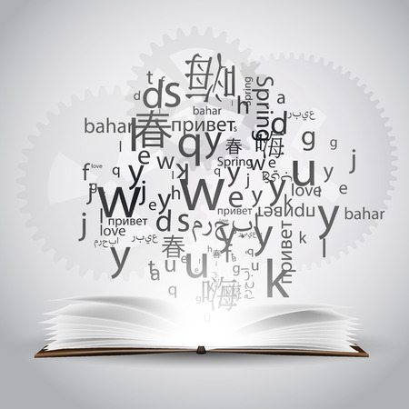 linguistics: Learning a language, a polyglot. To speak in different languages.