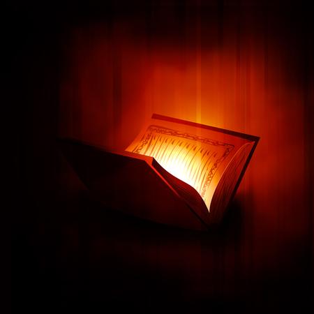 holy book Islam Quran Shareef Illustration