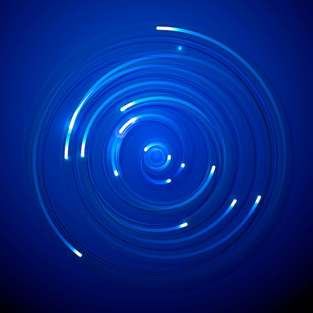 Abstract technology electrons background concept.