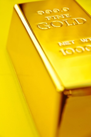 Gold bar Stock Photo - 10408694