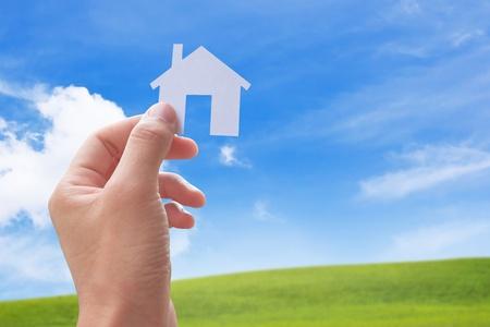 Dream Home: Konzept Bild von meinem Haus