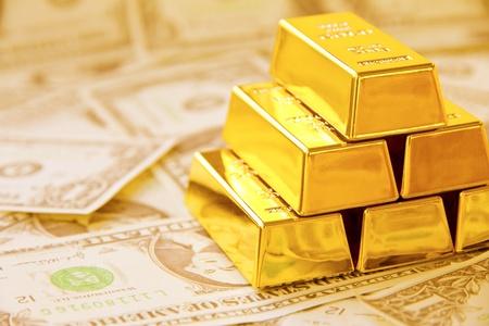 gold bar: Gold Bar  Stock Photo
