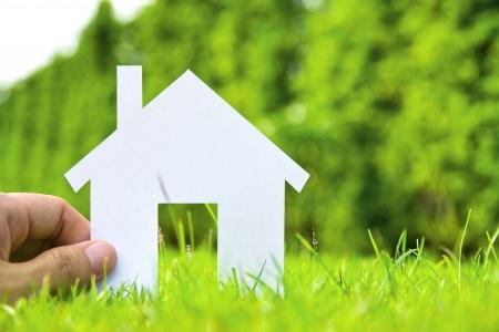의 컨셉 이미지는 당신의 집을 만들기 스톡 콘텐츠