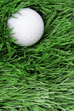 golf ball on rough Stock Photo - 11385335