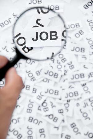 Find a job concept photo