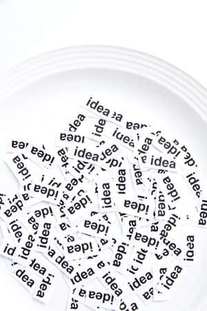 creative writing: idea concept