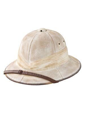 pith: Pith helmet  Stock Photo