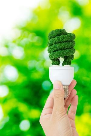 overuse: eco energy concept