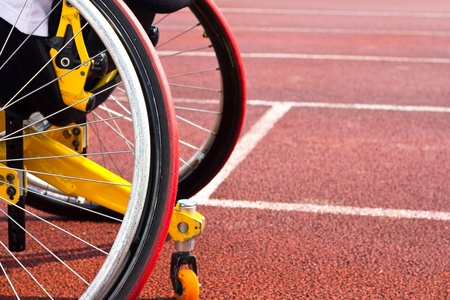 disabled sports: wheelchair