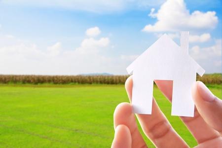 droomhuis: Hand Die Icoon House, mijn droom-concept