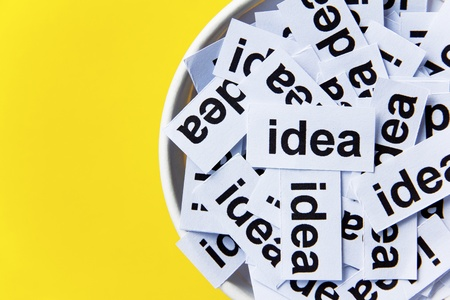 creative communication: idea concept