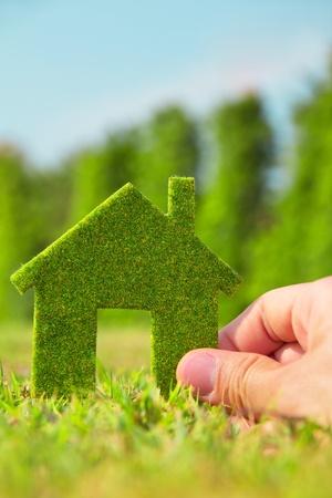 Eco concepto de casa