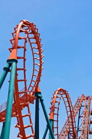 roller coaster: Roller Coaster Track