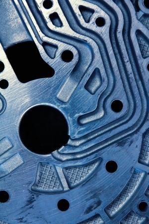 crankshaft: close up of automobile gear assembly