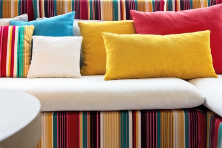 red pillows: Decorative pillow natural Fabric
