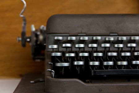 illiteracy: M�quina de escribir antigua
