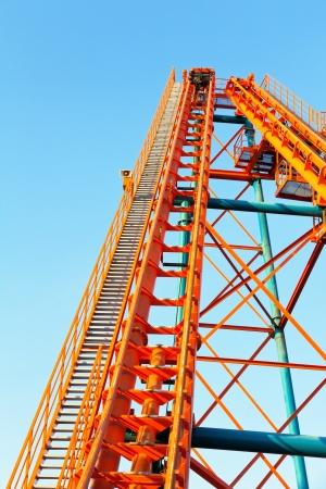 Roller Coaster Track photo