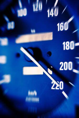 maximum: Highest speed Stock Photo