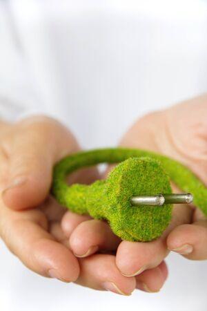 electric plug: eco electric plug concept