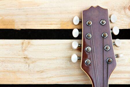 mandolin: mandolin headstock background