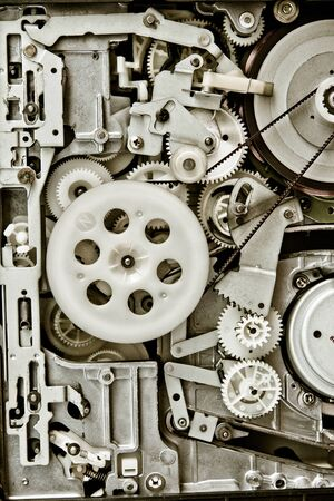mechanism background Stock Photo - 17020779
