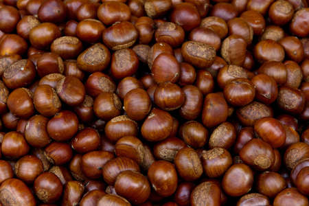 Chestnuts background photo