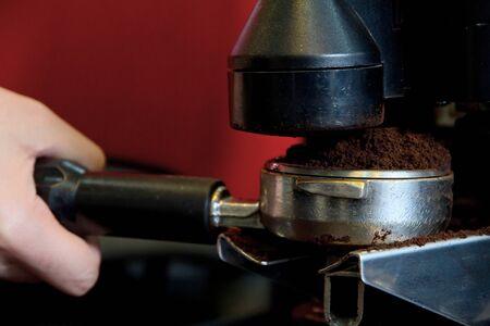 percolate: coffee maker machine Stock Photo
