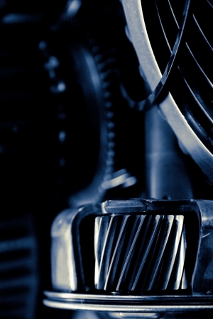 close up image of automobile gear assembly Stock Photo