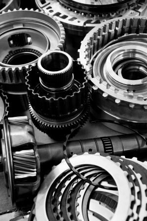 assembly: automobile gear assembly