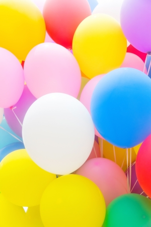 Multicolored Balloon Background photo
