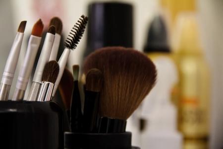 professionele cosmetische borstel