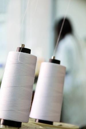 Textile industry Standard-Bild