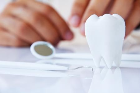 concept beeld van tandheelkundige
