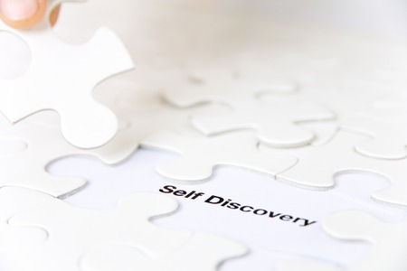 self discovery: missing puzzle piece, self discovery concept