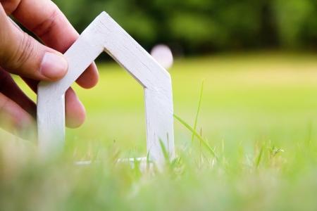 mijn droom huis-concept