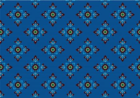 thai style: thai traditional style art pattern Illustration