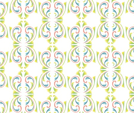 asian art:  Asian tradition art pattern in vector