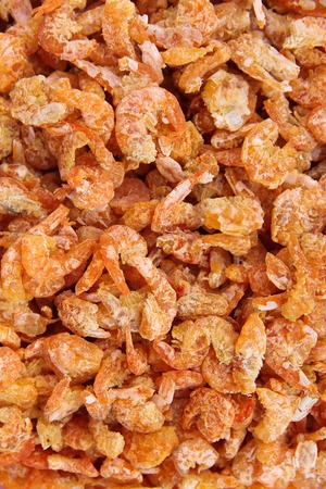 dried fish: Dried shrimp background