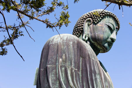 The Great Buddha of Kamakura, japan photo