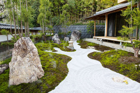 Hase: The rock garden in an Hase Temple  Hasedera