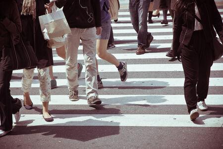 paso de peatones: Viajeros la ciudad de Tokio
