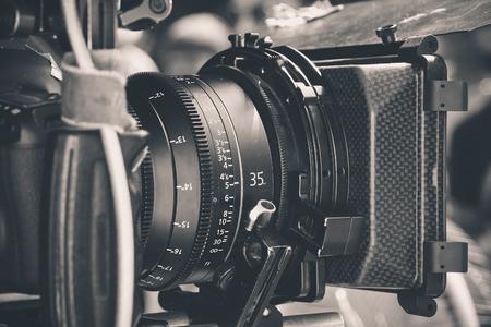 Cámara profesional de vídeo digital