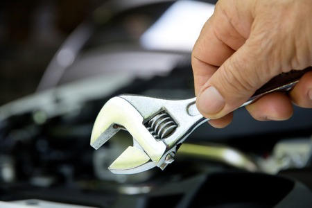 auto mechanic: Professional car mechanic auto repair concept