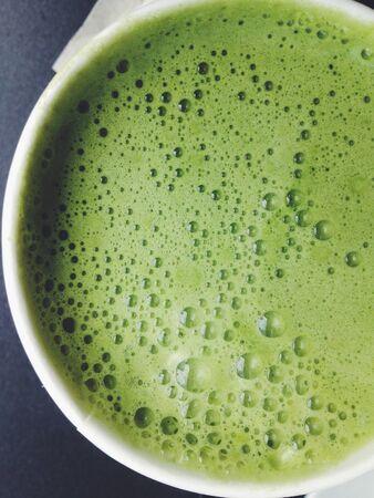 maccha: Greentea matcha latte background