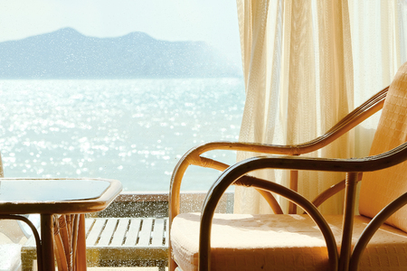 seaview: Tropical Seaview Through Window